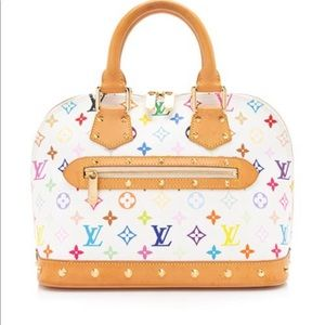 Louis Vuitton multicolor alma Satchel